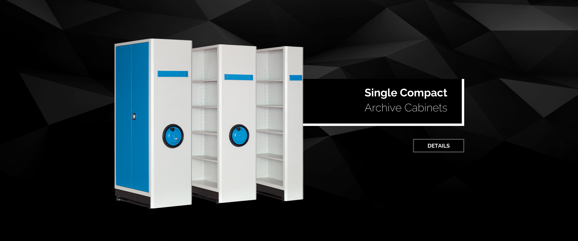 Single Compact Archive Cabinets